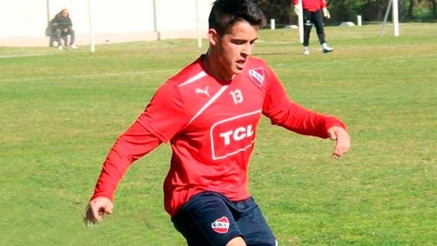 Zárate es cordobés y se formó en las juveniles de Independiente