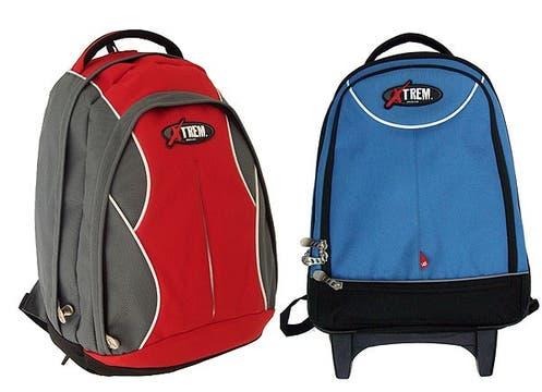 Chubut y Misiones son dos de los 11 diseños de mochilas de Samsonite ($149 y $200). Súper resistentes y con dos años de garantía. Foto: lanacion.com