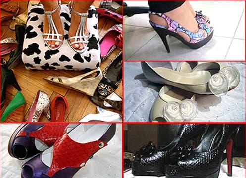 Las lectoras de lanacion.com enviaron sus zapatos preferidos. Foto: lanacion.com