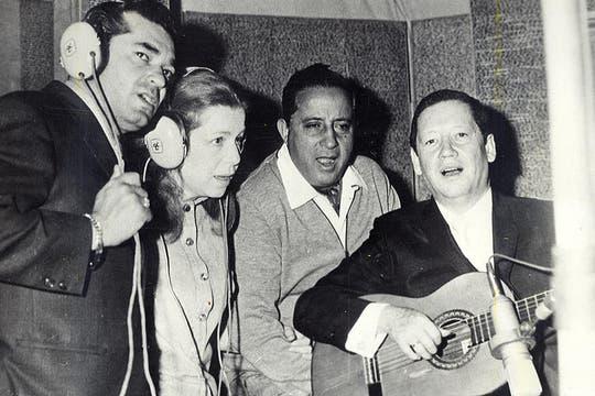 Estela Raval participó en grabaciones con el Trío los panchos. Foto: Archivo
