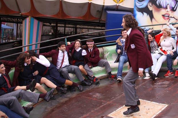 El recuerdo del Italpark en la serie más vista de la TV