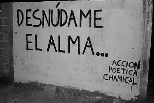 Acción Poética Chamical, La Rioja. Foto: Facebook