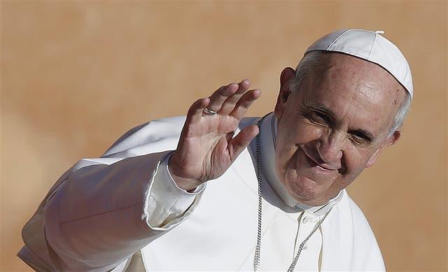 La sonrisa de Bergoglio como Sumo Pontífice es ya una imagen emblemática