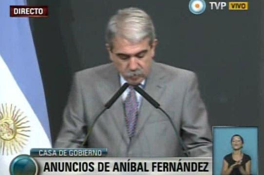 Aníbal Fernández anunció la intervención del Hospital Posadas
