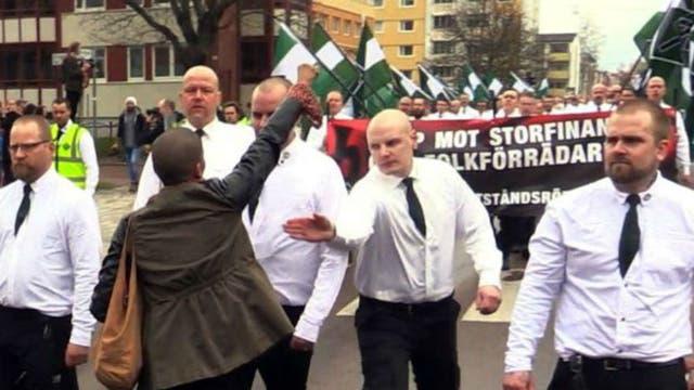 La decisión de permitir la marcha fue muy polémica
