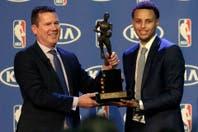Stephen Curry, elegido por unanimidad como MVP por segundo año consecutivo