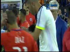 Las lágrimas de Messi tras haber perdido la final