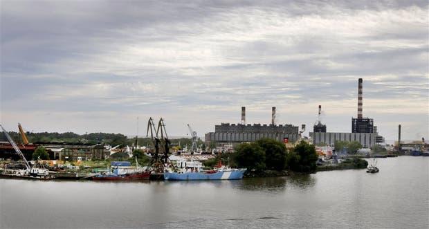 La isla hoy: la isla Demarchi mantiene una intensa actividad fluvial