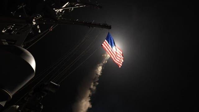 Estados Unidos atacó Siria en respuesta al supuesto uso de armas químicas por parte de al Asad