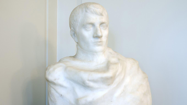 El busto descubierto por los expertos foto: AFP