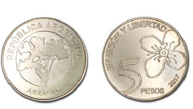 La moneda de $5