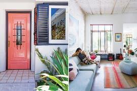Detrás de una puerta rosa, un paraíso de color en La Lucila