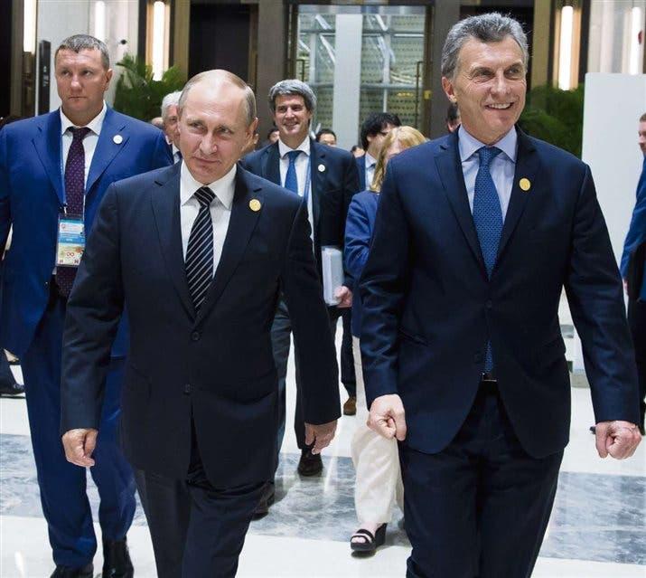 Macri ya está en Rusia