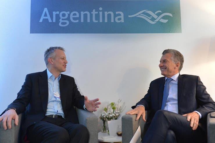 Resultado de imagen para Macri con James Quincey.
