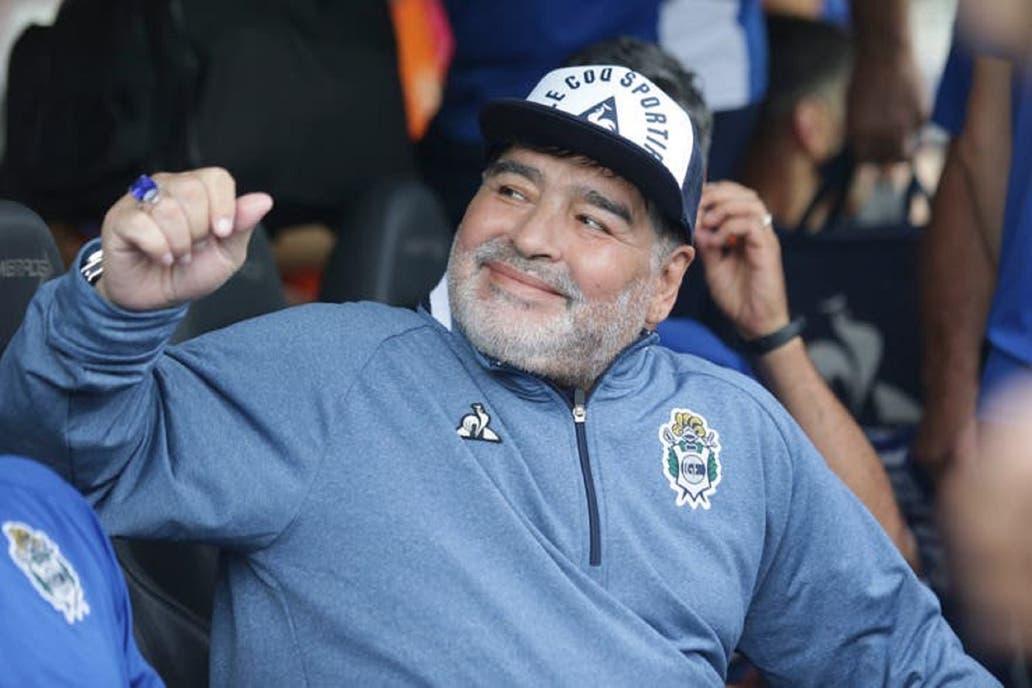 El Gimnasia de Maradona se pone en carrera