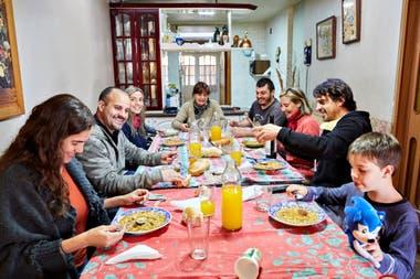 La alegría de los Pons, otra vez reunidos en Mendoza