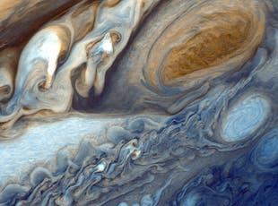 La Gran Mancha Roja de Júpiter. Foto: Archivo