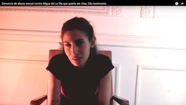 Rocío cuenta lo que vivió mientras fue novia de Del Pópolo