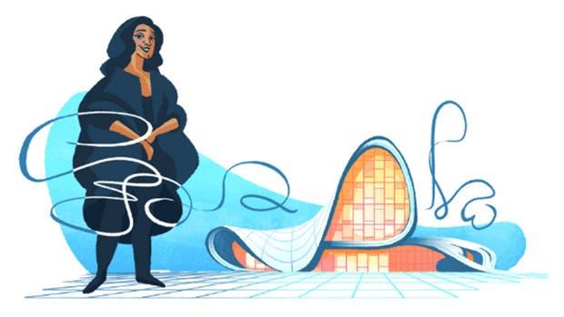 Zaha Hadid: Google homenajea a la premiada arquitecta iraquí