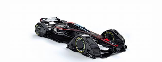 Prototipo. El MP4-X es un ejemplo de cómo serán los próximos F1 según McLaren