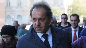 El ex gobernador bonaerense Daniel Scioli