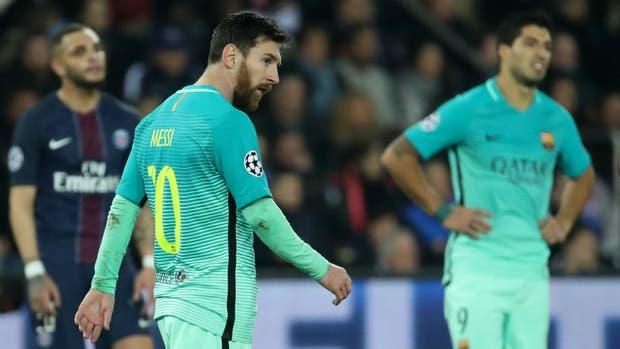 El pesar de Messi y Suárez