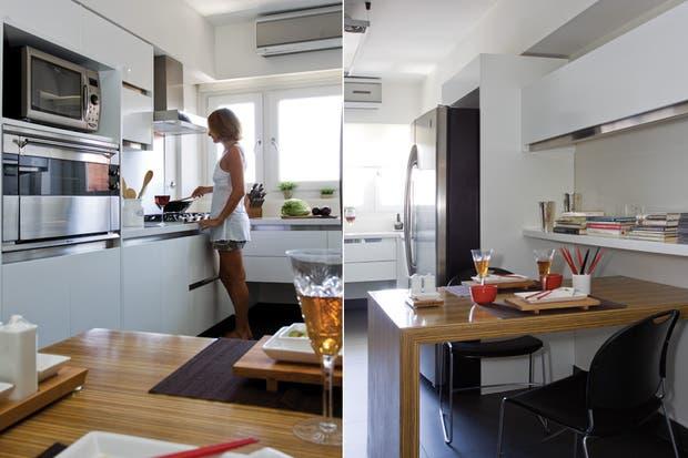 Diseo cocinas alargadas finest cocinas con barra para for Ideas cocinas alargadas