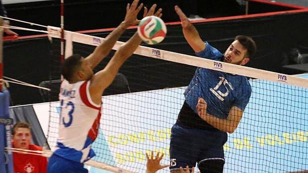 Argentina le ganó a Puerto Rico en el debut