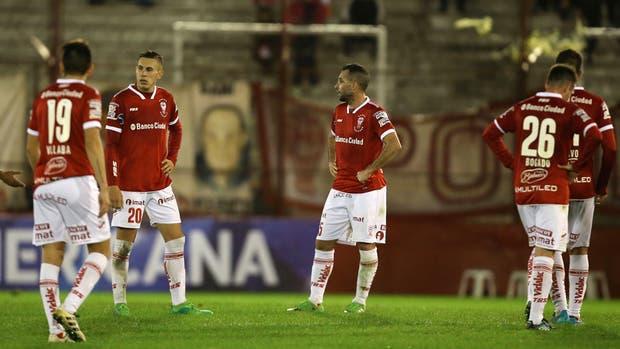 Huracan sufrio un duro golpe en la Sudamericana
