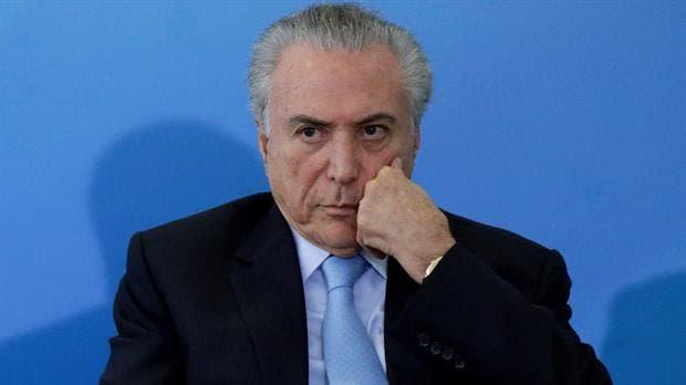 Presidente de Brasil es acusado de corrupción por la Corte Suprema