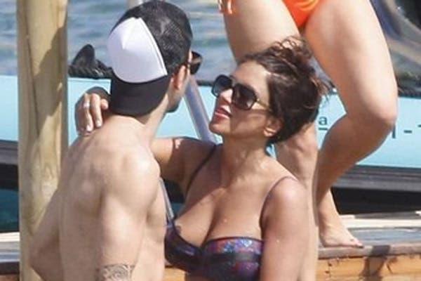Cesc y su mujer.  /Mundo Deportivo