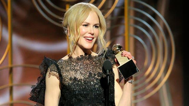 Nicole Kidman, la primera ganadora de la noche