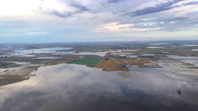 Por las inundaciones, confirman obras para General Villegas
