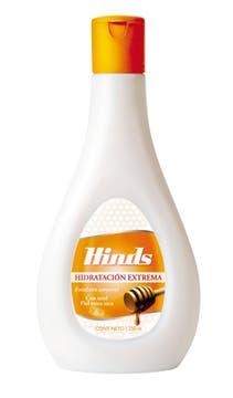 Hinds. Hidratante con miel ($ 19,80).