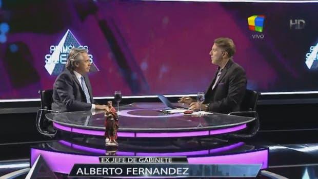 Alberto Fernández en Animales Sueltos