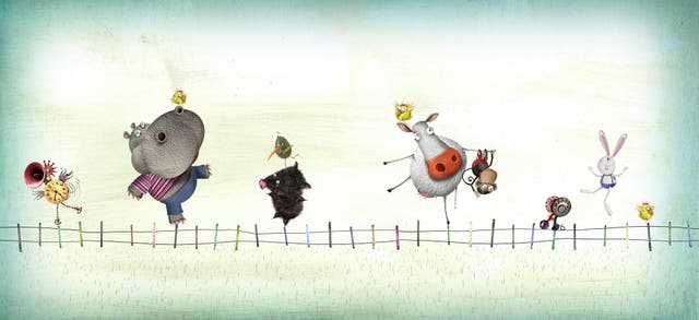 Animalísimo, ilustración de Pablo Bernasconi