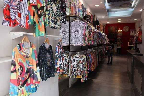 En Ama tu ropa hay muchas estampas y colores. Foto: OHLALÁ! /Guadalupe Aizaga