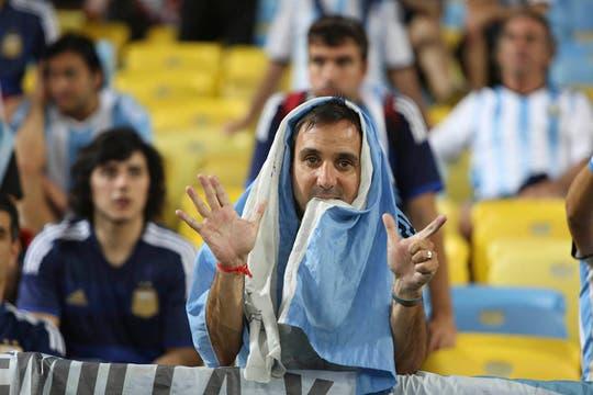 La Argentina perdió con Alemania 1-0 en la final. Foto: LA NACION / Juan López / Enviado especial