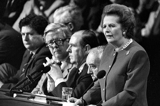 Durante una convención en 1988. Foto: Archivo