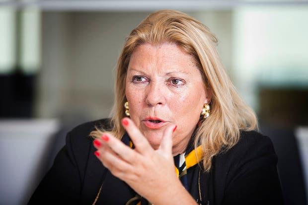Elisa Carrió apuntó contra el jefe de la Policía Bonaerense
