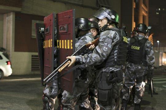 Los disturbios tuvieron una escenarios el comienzo de la Copa Confederaciones. Foto: DPA