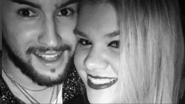 Morena Rial y su novio se tatuaron sus nombres