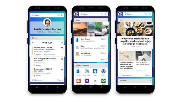 Microsoft prepara su lanzador de aplicaciones para Android, que estará integrado a Windows 10 cuando se actualice a la versión Fall Creators Update