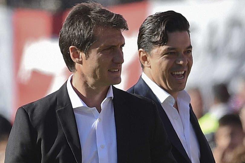 Guillermo Barros Schelotto y Marcelo Gallardo enfrentan su primer gran duelo de 2018
