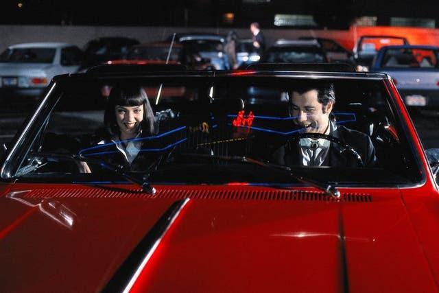 Uno de los autos utilizados en Pulp Fiction era de Tarantino, y fue robado durante la filmación