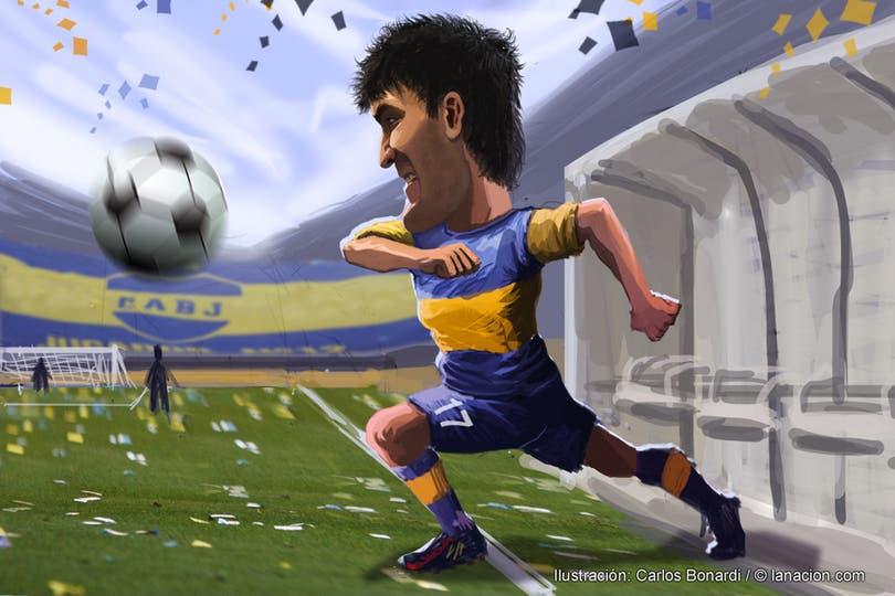 Blandi, el inesperado goleador xeneize