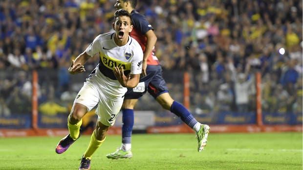 La noche soñada de Gonzalo Maroni: debut como titular y gol en la Bombonera