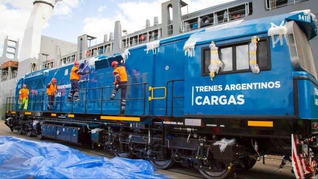 Compraron locomotoras para el tren de cargas: no se renovaban desde hace 44 años