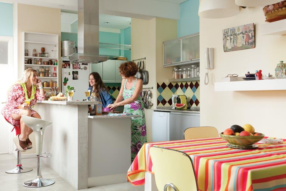Una cocina pensada para la vida cotidiana