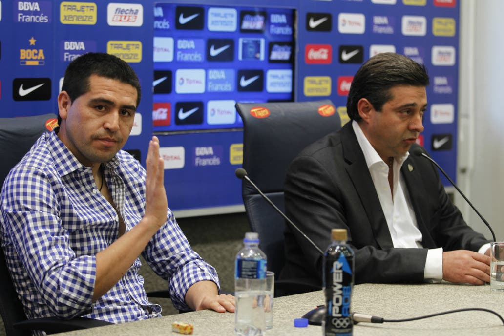 Riquelme se postuló para ser presidente de Boca en el 2019
